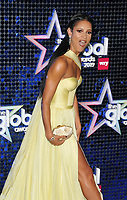 Vick Hope at the Global Awards 2019, Hammersmith Apollo (Eventim Apollo), Queen Caroline Street, London, England, UK, on Thursday 07th March 2019.<br /> CAP/CAN<br /> &copy;CAN/Capital Pictures