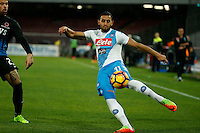Faouzi Ghoulam  during the SSC Napoli vs Atalanta, serie A  soccer match at  San Paolo Stadium in Naples , Italy 25 February 2017 Photo: Ciro De Luca ciro de luca<br />   +39 02 43998577 sales@silverhubmedia.it