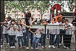 Laboratorio con i bambini della scuola elementare Gabelli sull'educazione allo spazio pubblico, nei giardini Montanaro