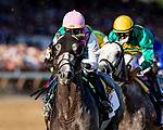 AUG 24: Tacitus with Jose Ortiz races in the Travers Stakes races at Saratoga Racecourse in New York on August 24, 2019. Evers/Eclipse Sportswire/CSM