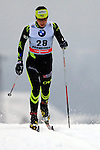 Anouk Faivre Picon in action during the Women 5 km Classic Individual in Val Di Fiemme<br /> <br /> &copy; Pierre Teyssot