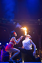London, UK. 15.05.2015. LIMBO, a mix of cabaret, circus and acrobatics, opens at the London Wonderground at Southbank Centre. Picture shows: Heather Holliday. Photograph © Jane Hobson.