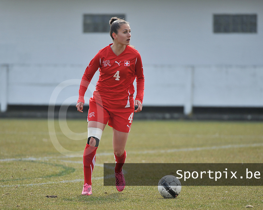 Switzerland U19 - Russia U19 : Francesca Calo.foto DAVID CATRY / Nikonpro.be