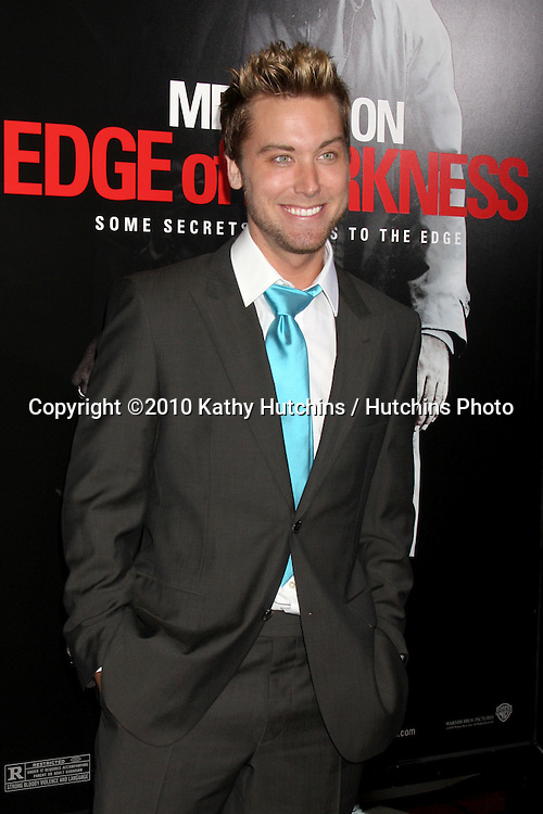 "Lance Bass.arriving at the premiere of the ""Edge of Darkness"".Grauman's Chinese Theater.Los Angeles, CA.January 26, 2010.©2010 Kathy Hutchins / Hutchins Photo...."