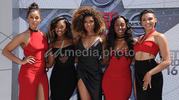 26 June 2016 - Los Angeles. June's Diary. Arrivals for the 2016 BET Awards held at the Microsoft Theater. Photo Credit: Birdie Thompson/AdMedia