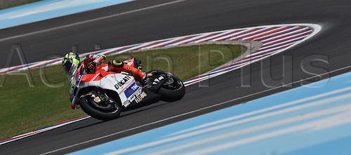 01.04.2016. Termas de Río Hondo, Santiago del Estero, Argentina. MotoGP of Argentina, free practise.  Andrea Iannone
