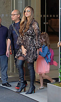WWW.ACEPIXS.COM<br /> <br /> August 4, 2017 New York City<br /> <br /> Actress Jessica Alba leaving her Manhattan hotel with her two daughters Honor and Haven on August 4 2017 in New York City.<br /> <br /> <br /> Please byline: Curtis Means/ACE Pictures<br /> <br /> ACE Pictures, Inc.<br /> www.acepixs.com, Email: info@acepixs.com<br /> Tel: 646 769 0430