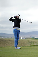 Jason Rackard (Bunclody) during round 1 of The West of Ireland Amateur Open in Co. Sligo Golf Club on Friday 18th April 2014.<br /> Picture:  Thos Caffrey / www.golffile.ie