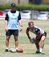 Francois de Villiers during the cell c sharks pre season training session at  Growthpoint Kings Park ,22,01,2018 Photo by Steve Haag)