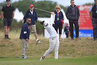 Emma Talley (USA) on the 2nd fairway during Round 3 of the Ricoh Women's British Open at Royal Lytham &amp; St. Annes on Saturday 4th August 2018.<br /> Picture:  Thos Caffrey / Golffile<br /> <br /> All photo usage must carry mandatory copyright credit (&copy; Golffile | Thos Caffrey)