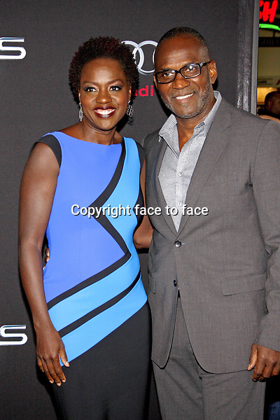 Viola Davis at the Los Angeles Premiere of &quot;Ender's Game&quot; held at the TCL Chinese Theater in Hollywood on October 28, 2013 in Los Angeles, California.<br /> Credit: PopularImages/face to face