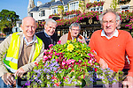 Killarney Tidy Towns committee members l-r: Johnny Maguire, Fr Murphy, Donal Mangan and Cllr Michael Gleeson who are delighted with the Tidy Towns results