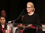 Daryl Roth on stage at the The Lilly Awards  at Playwrights Horizons on May 22, 2017 in New York City.