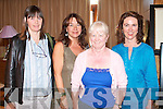 ANTIQUES FAIR: Enjoying the Antiques Fair at the Carlton hotel on Sunday l-r: Jane Jackson, Castlemaine, Margaret Kennedy-O'Connell, Tralee, Patricia Byrne, Donegal and Amanda Tarrant, Tralee.