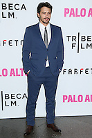 "LOS ANGELES, CA, USA - MAY 05: James Franco at the Los Angeles Premiere Of Tribeca Film's ""Palo Alto"" held at the Directors Guild of America on May 5, 2014 in Los Angeles, California, United States. (Photo by Celebrity Monitor)"