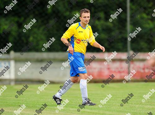 2014-07-25 / Voetbal / seizoen 2014-2015 / KSV Schriek / Kenny Moras<br /><br />Foto: mpics.be