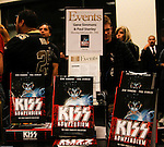 GENE SIMMONS. Signs copies of the new book KISS Kompendium, on which he collaborated with fellow KISS member, Paul Stanley. Simmons appeared at Barnes & Noble in Los Angeles, California, USA. February 8, 2010. CEL/CAP.©Magali Ruer/CelPh/Capital Pictures.