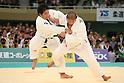 (L to R) Daiki Kamikawa (JPN), Masaru Momose (JPN), .April 29, 2012 - Judo: 2012 All Japan Judo Championships, Quarterfinal .at Nihon Budokan, Tokyo, Japan. (Photo by Daiju Kitamura/AFLO SPORT) [1045]