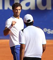 26.04.2012. Barcelona, Spain.ATP Barcelona Open Banc Sabadell. Picture show Jean-julien Rojer (NED)