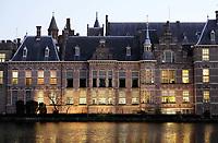 Nederland -  Den Haag - 4  december 2017. Regeringsgebouwen aan de Hofvijver. Berlinda van Dam / Hollandse Hoogte