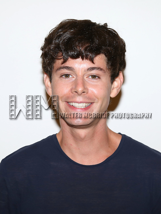 Paul Iacono attends the first day rehearsal for the New Group production of 'Mercury Fur' at the New 42nd Street Studios on July 6, 2015 in New York City.