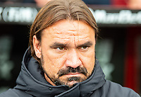 Norwich City manager Daniel Farke during the Premier League match between Crystal Palace and Norwich City at Selhurst Park, London, England on 28 September 2019. Photo by Andrew Aleksiejczuk / PRiME Media Images.