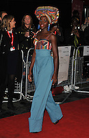 Lupita Nyong'o at the &quot;Queen of Katwe&quot; 60th BFI London Film Festival Virgin Atlantic gala screening, Odeon Leicester Square cinema, Leicester Square, London, England, UK, on Sunday 09 October 2016.<br /> CAP/CAN<br /> &copy;CAN/Capital Pictures /MediaPunch ***NORTH AND SOUTH AMERICAS ONLY***