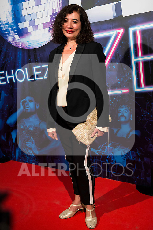 Chus Gutierrez attends to the premiere of the The Hole Zero Show at Teatro Calderon in Madrid. October 04, 2016. (ALTERPHOTOS/Borja B.Hojas)