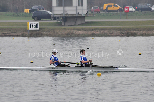 436 CanfordSch SEN.2‐..Marlow Regatta Committee Thames Valley Trial Head. 1900m at Dorney Lake/Eton College Rowing Centre, Dorney, Buckinghamshire. Sunday 29 January 2012. Run over three divisions.