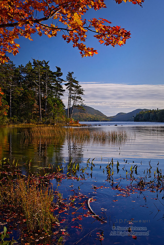 Eagle Lake, Acadia National Park, Maine.  Available in sizes up to 30 x 45 inches.