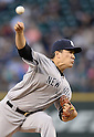 Masahiro Tanaka (Yankees), JUNE 11, 2014 - MLB : Masahiro Tanaka of the New York Yankees pitches during the Major League Baseball game against the Seattle Mariners at Safeco Field in Seattle, Washington, United States. (Photo by AFLO)
