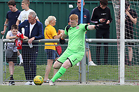 Josh Bexon of Harlow Town during Harlow Town vs Leyton Orient, Friendly Match Football at The Harlow Arena on 6th July 2019
