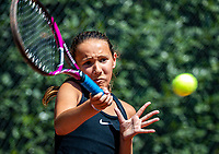 Hilversum, Netherlands, Juli 29, 2019, Tulip Tennis center, National Junior Tennis Championships 12 and 14 years, NJK, Megan Caffin (NED)<br /> Photo: Tennisimages/Henk Koster