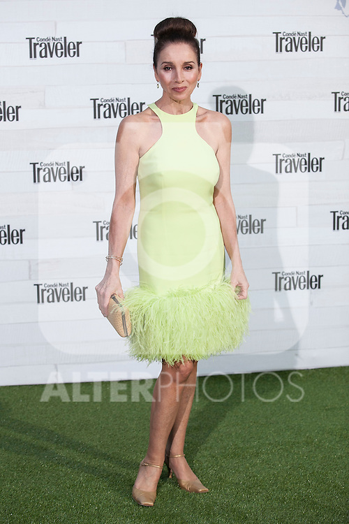 Singer Ana Belen attends the VII Conde Nast Traveler Awards at the Giner de los Rios Foundation in Madrid, Spain. May 07, 2015. (ALTERPHOTOS/Victor Blanco)