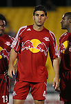 31 March 2007: New York's Carlos Mendes. Major League Soccer's Houston Dynamo defeated the New York Red Bulls 2-1 in a preseason game at Blackbaud Stadium on Daniel Island in Charleston, SC, as part of the Carolina Challenge Cup.