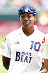 27 June 2004: Charmaine Hooper. The San Diego Spirit defeated the Carolina Courage 2-1 at the Home Depot Center in Carson, CA in Womens United Soccer Association soccer game featuring guest players from other teams.