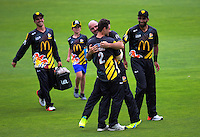 161222 McDonalds Super Smash T20 Cricket - Wellington Firebirds v Auckland Aces