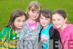 RUNNERS READY: Some of the runners ready for action at the Rock Street/Caherslee community games at Mercy Mounthawk School on Friday l-r: Ailbhe Manning, Aimae O'Mahoney, Cira Moynihan and Olra O'Rielly all from Mounthawk.   Copyright Kerry's Eye 2008