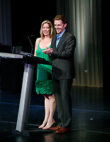 ***FILE PHOTO*** Marine Mazzie Has Passed Away at The Age Of 57<br /> Marin Mazzie &amp; Jason Danieley performing at The 54th Annual Drama Desk Awards at FH LaGuardia Concert Hall in New York City.<br /> May 17, 2009 <br /> CAP/MPI/WMB<br /> &copy;WMB/MPI/Capital Pictures