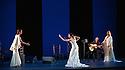 Sadler's Wells presents Esperanza Fernandez in DE LO JONDO Y VERDADERO, as part of the Flamenco Festival London 2016. Picture shows: Marina Heredia, Ana Morales, Miguel Angel Cortes, Esperanza Fernandez