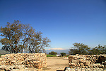 Israel, Upper Galilee, Tel Hazor, a World Heritage site, the Solomonic City Gate  dated to the 10th Century B.C