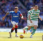 12.05.2019 Rangers v Celtic: James Tavernier and Tom Rogic