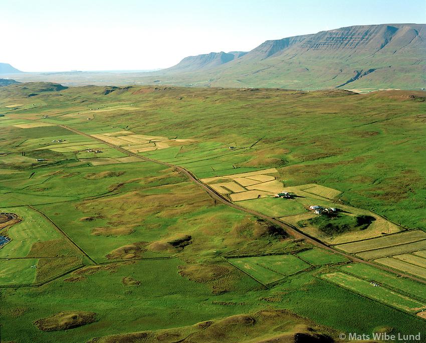 Hóll séð til norðurs, Lýtingsstaðahreppur / Holl viewing north, Lytingsstadahreppur