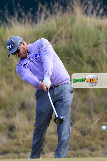 George Coetzee (RSA) tees off the 6th tee during Friday's Round 2 of the 2015 U.S. Open 115th National Championship held at Chambers Bay, Seattle, Washington, USA. 6/19/2015.<br /> Picture: Golffile | Eoin Clarke<br /> <br /> <br /> <br /> <br /> All photo usage must carry mandatory copyright credit (&copy; Golffile | Eoin Clarke)