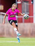 Solna 2014-08-16 Fotboll Damallsvenskan AIK - Kopparbergs/G&ouml;teborg FC :  <br /> Kopparbergs/G&ouml;teborgs Lieke Martens i aktion <br /> (Foto: Kenta J&ouml;nsson) Nyckelord:  AIK Gnaget Kopparbergs G&ouml;teborg Kopparbergs/G&ouml;teborg portr&auml;tt portrait