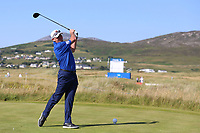 Tim Murray playing with Dylan Frittelli (RSA) during the ProAm of the 2018 Dubai Duty Free Irish Open, Ballyliffin Golf Club, Ballyliffin, Co Donegal, Ireland.<br /> Picture: Golffile | Jenny Matthews<br /> <br /> <br /> All photo usage must carry mandatory copyright credit (&copy; Golffile | Jenny Matthews)