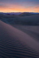 Mesquite Flats Sand Dunes at dawn