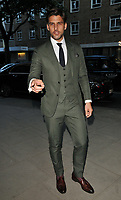 Johannes Huebl at the LFW (Men's) s/s 2019 GQ Dinner to close this season's London Fashion Week Men's, Palm Court at The Principal London, Russell Square, London, England, UK, on Monday 11 June 2018.<br /> CAP/CAN<br /> &copy;CAN/Capital Pictures