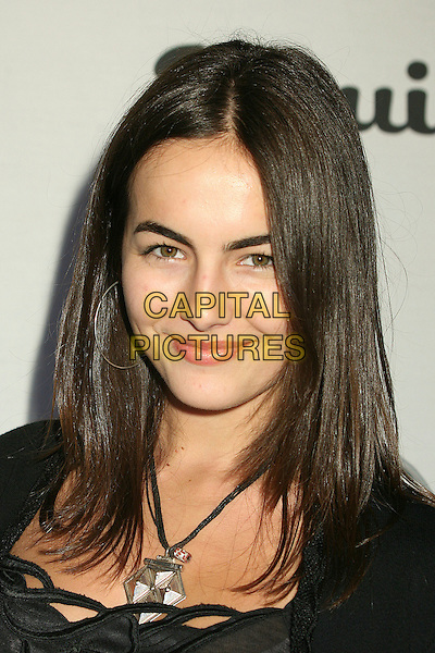 "CAMILLA BELLE.Esquire Magazine Unveils the 'Esquire House 360' with an Opening Night Celebration to Benefit ""The Art of Elysium"", Beverly Hills, California, USA..October 19th, 2006.Ref: ADM/BP.headshot portrait.www.capitalpictures.com.sales@capitalpictures.com.©Byron Purvis/AdMedia/Capital Pictures."