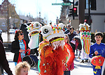 Members of the Carson Valley Chinese Cultural Dance Group perform during the Chinese New Year Celebration at the Nevada State Museum in Carson City, Nev., on Saturday, Feb. 16, 2018. <br /> Photo by Cathleen Allison/Nevada Momentum